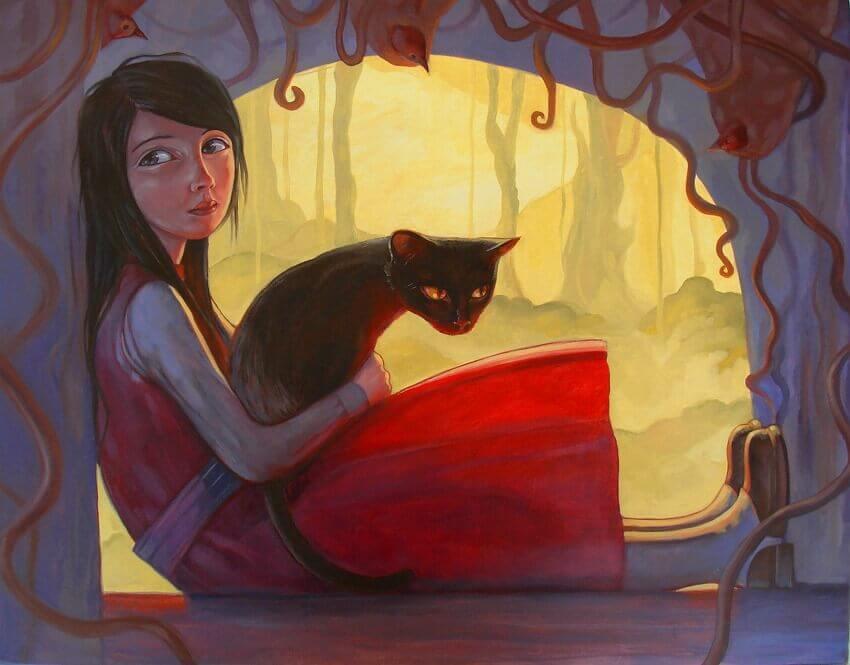 https://lamenteesmaravillosa.com/wp-content/uploads/2015/06/Chica-con-vestido-rojo-y-un-gato-entre-sus-brazos.jpg