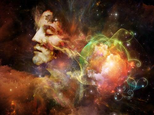 Mujer pensando en liberar la mente simbolizando las teorias de william james