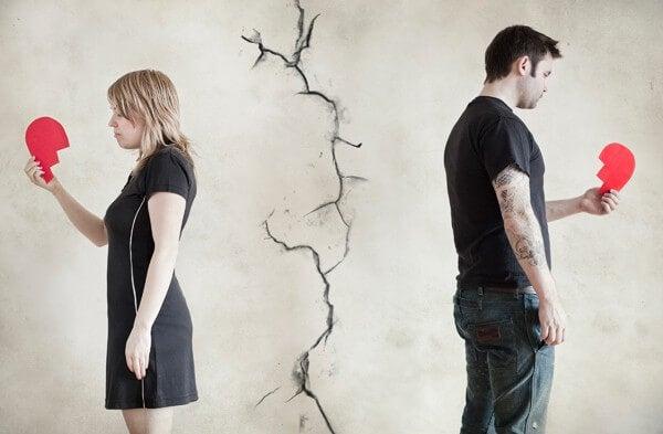 ¿Cómo actúas tras romper una relación amorosa?