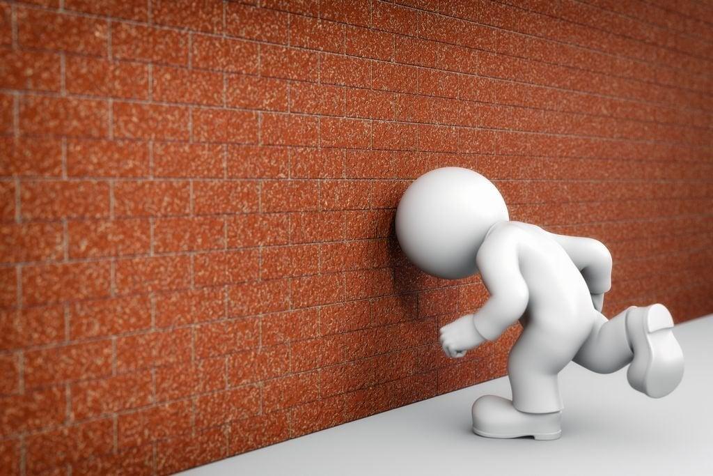 Darse contra la pared