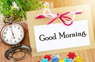 5 razones para despertarse a las seis de la mañana