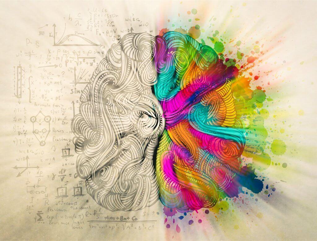 Cerebro personas creativas