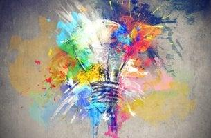 Cuadro que muestra creatividad