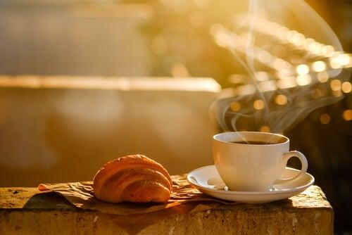 Desayunar tranquilamente