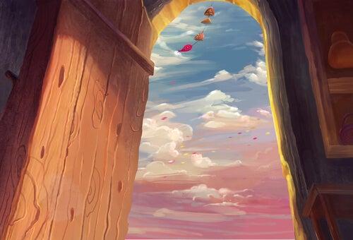 Una puerta entreabierta es media felicidad