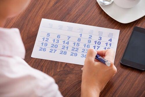 calendario hábitos