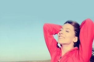 Cuando esté feliz solo pido que la mente esté de mi parte