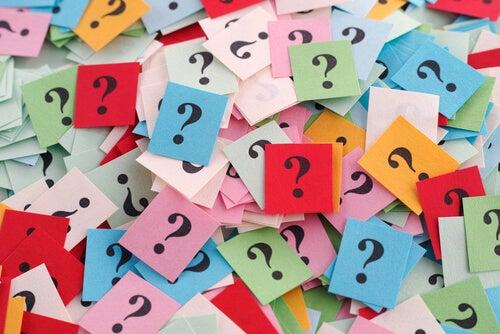No temas hacerte preguntas, en ellas están todas las respuestas