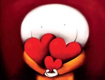 Muñeco con tres corazones