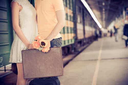 Un viaje que marca un antes y un después, amor