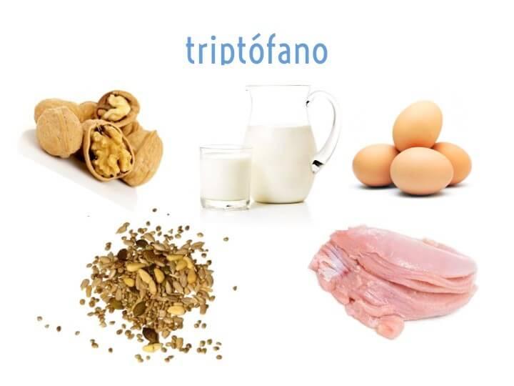 Alimentos con más triptófano