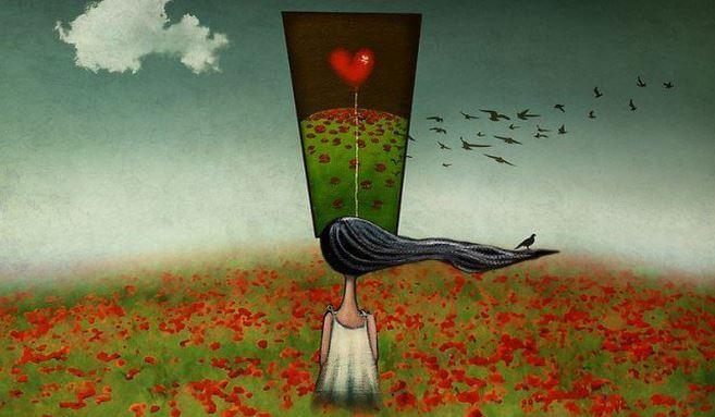 No intentes sacar de tu cabeza lo que no sale del corazón