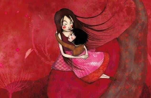 Los niños necesitan tus abrazos para sentirse parte del mundo