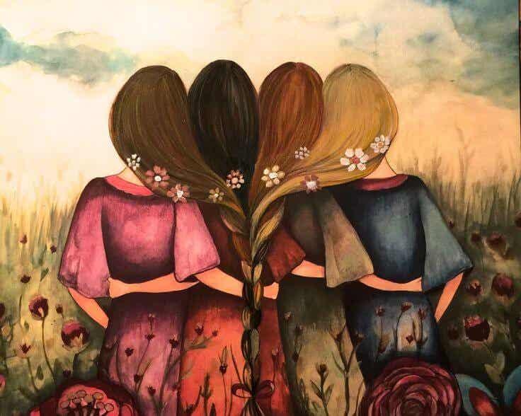 Mis amigos son el bálsamo que cura y protege mis heridas