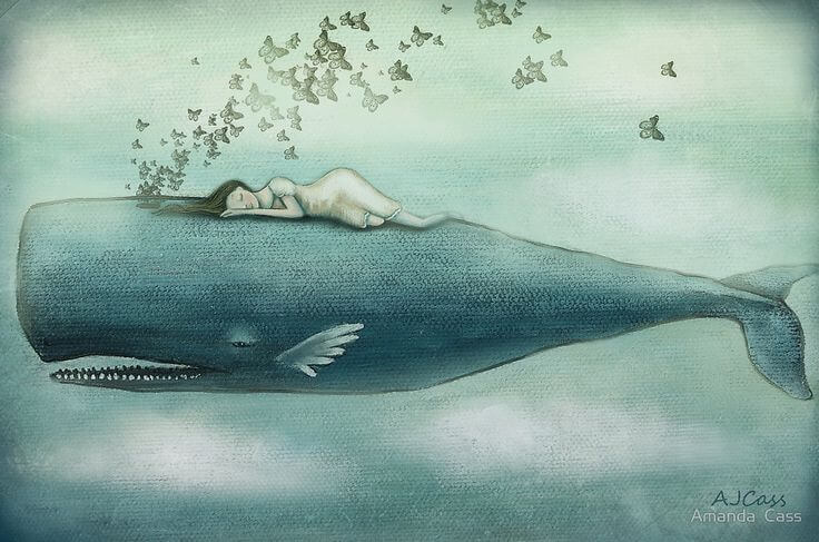 A veces lloramos tantas lágrimas que en ellas podrían nadar ballenas