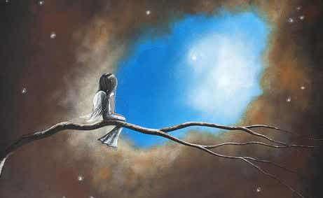 Ojalá existiera una escalera al cielo para verte cada día
