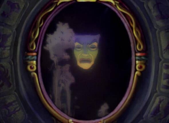 Espejo mágico de Blancanieves