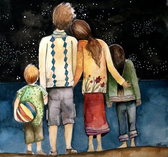 Mi mayor tesoro es mi familia