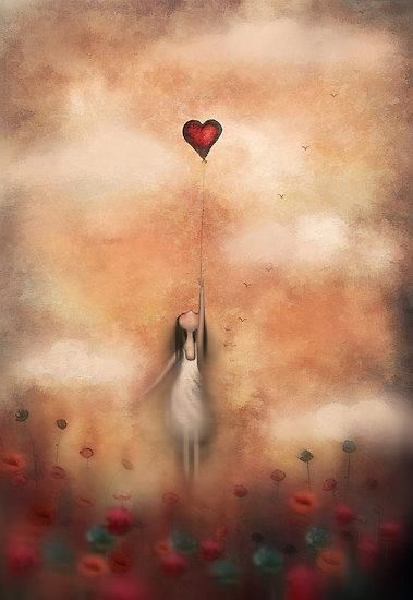 joven alcanzando corazon