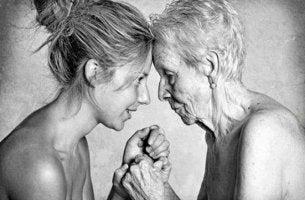 Mujeres representando madres coraje