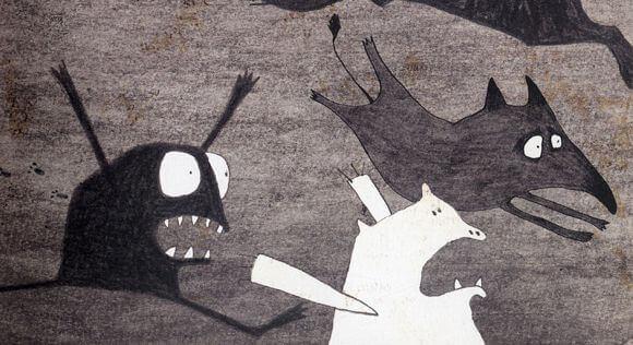 Fantasmas qeu provocan miedo a la osuridad