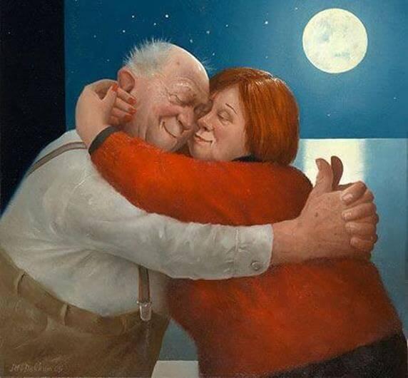 pareja de ancianos a la luz de la luna (1) (Copy)