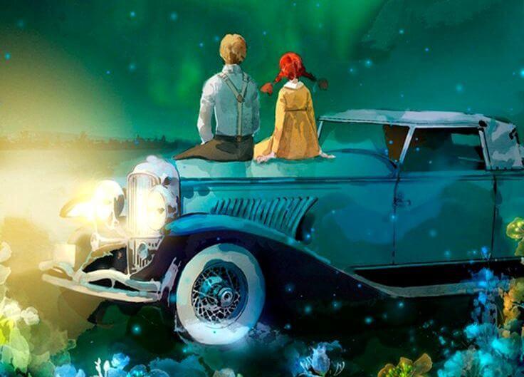 pareja viendo las estrellas