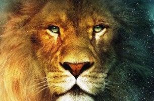 Cara de un león