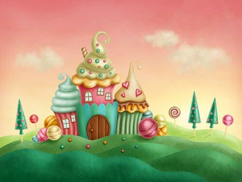 Casa de chocolate y azúcar