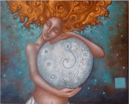 Mujer y Luna: un vínculo que nos ayuda a comprender el ciclo femenino