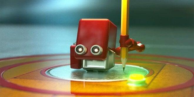 Robot rojo
