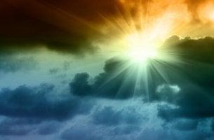 Sol-brillando-tras la tormenta