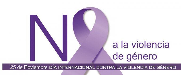 Cartel de día contra la violencia de género