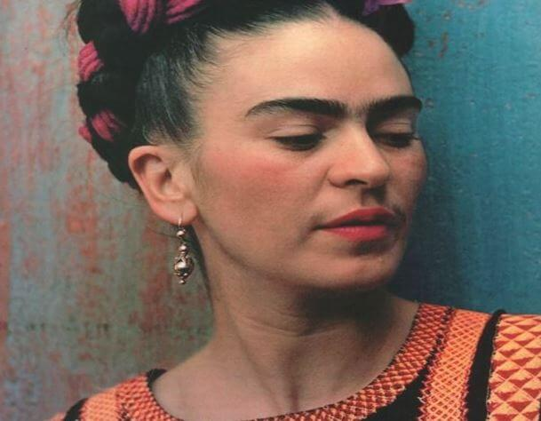Foto de Frida a color