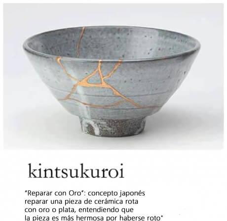 kitsukoroi objetos rotos