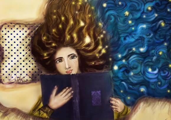 La lectura antes de dormir