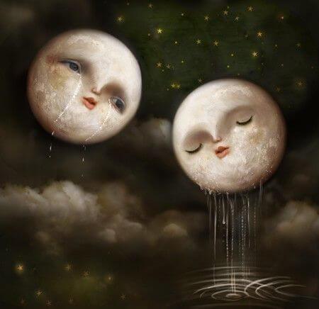 Lunas llorando