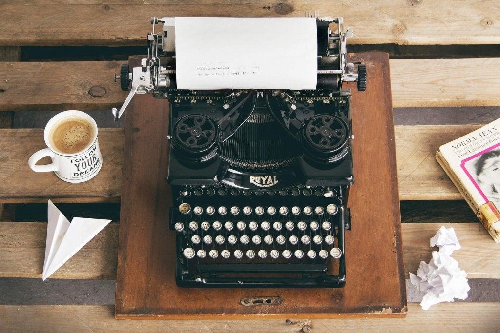 En la vida se escribe, se borra y se reescribe