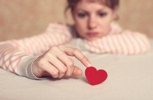 Mujer con expectativas sobre el amor