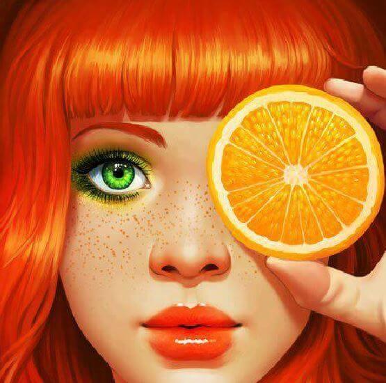 naranja-mujer