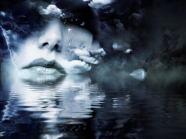 Ojos tristes como reflejo del alma