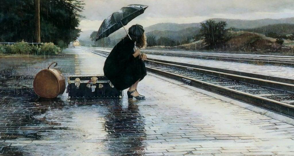 Perderse en la tormenta