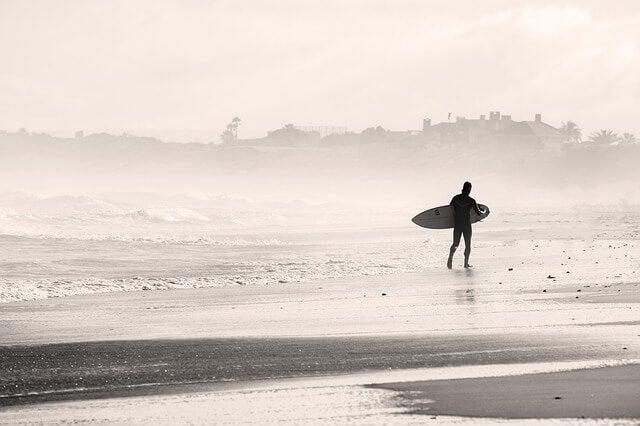 La fábula del surfista