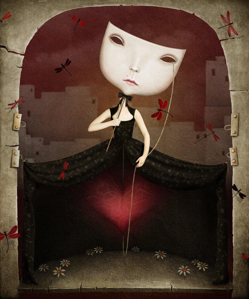 Marioneta de una niña