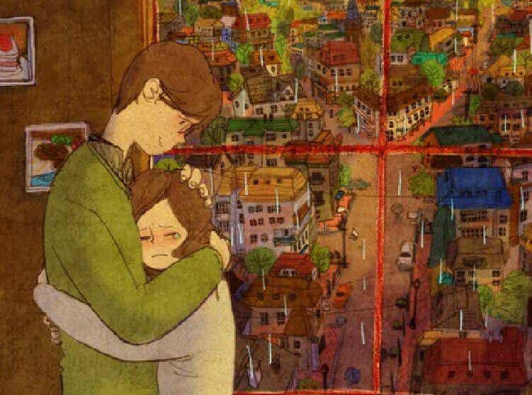 Un día te abrazarán tan fuerte que se unirán tus partes rotas