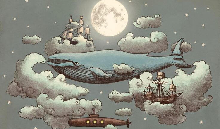 ballena que avanza en la noche (1)