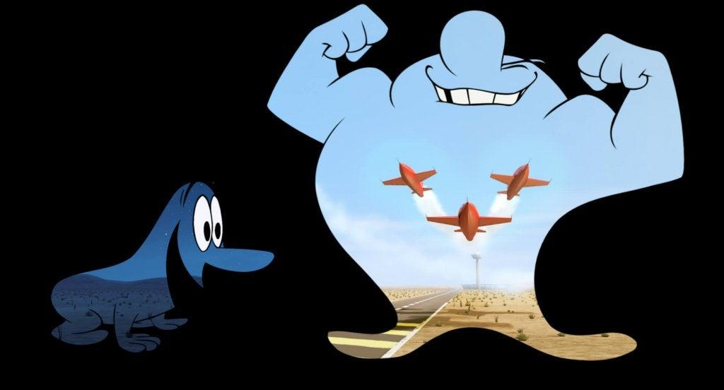 corto pixar dia y noche representando el valor de respetar las diferencias