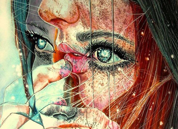 ilustración de una mujer representando cómo nos ven
