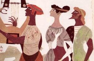 ilustracion griega frases historia