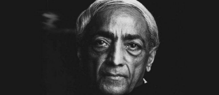 Este vídeo de Krishnamurti hará que reflexiones acerca de ti